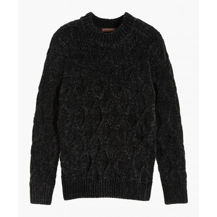 Image for Artwork chunky-knit jumper