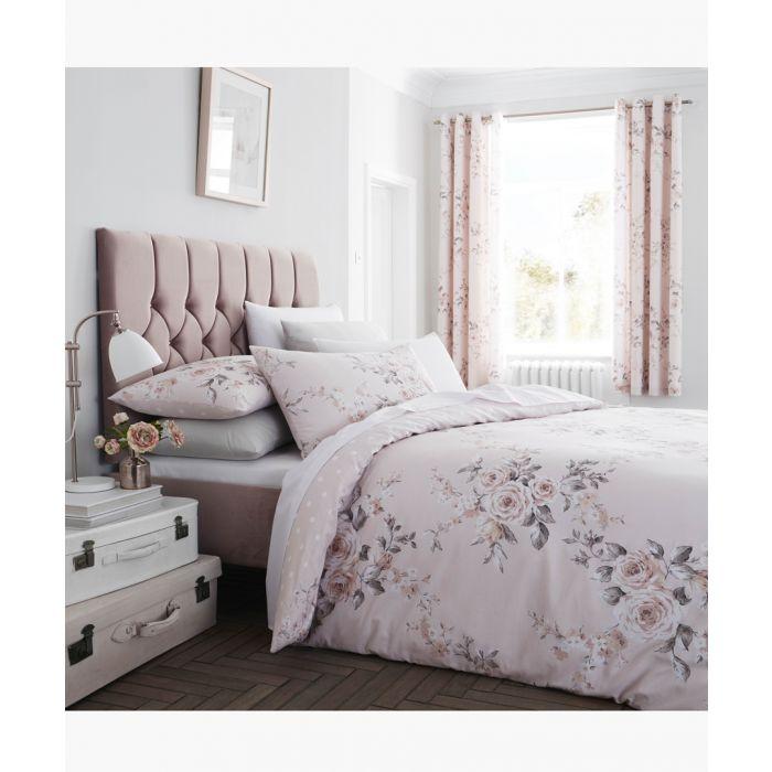 Image for Canterbury blush cotton blend 220x230cm bedspread