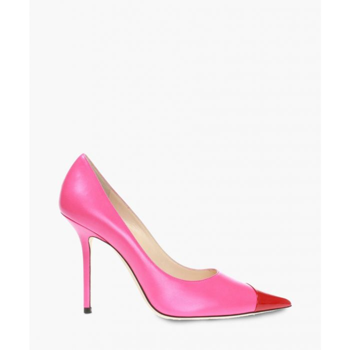 Image for Love 100 multi-coloured leather pumps