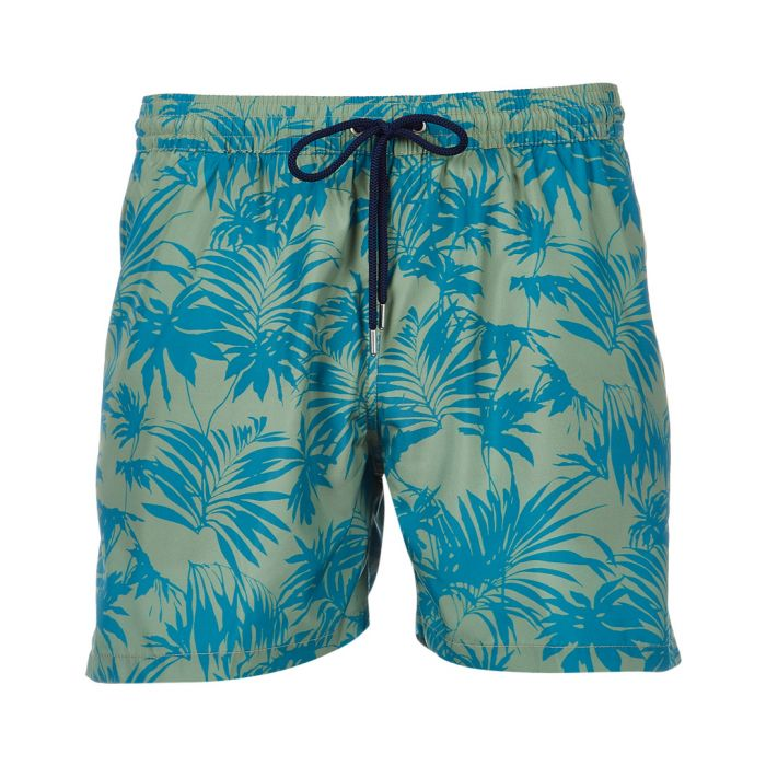 Image for Multi-colorued green swimming shorts