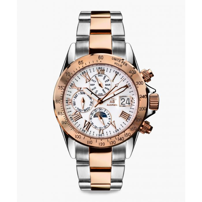 Image for Le Capitaine silver and gold-tone watch