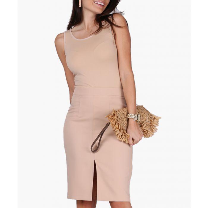 Image for Beige Woven Skirt