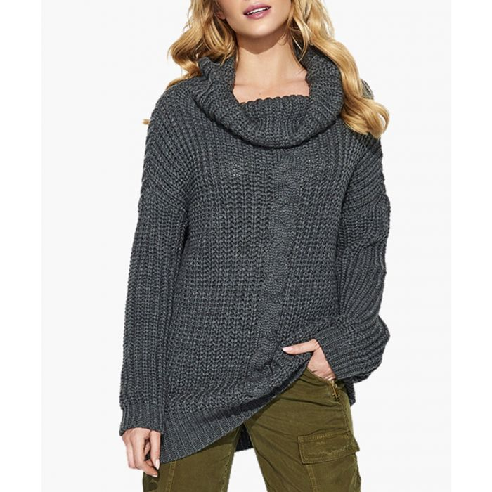 Image for Graphite knitted sweater