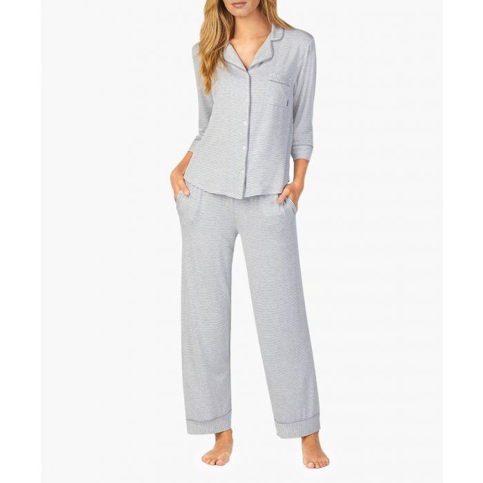 Image for Grey long pyjama set