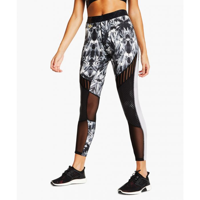 Image for Black and white sports leggings