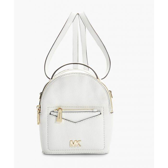 Image for Jessa XS Convertible White Backpack