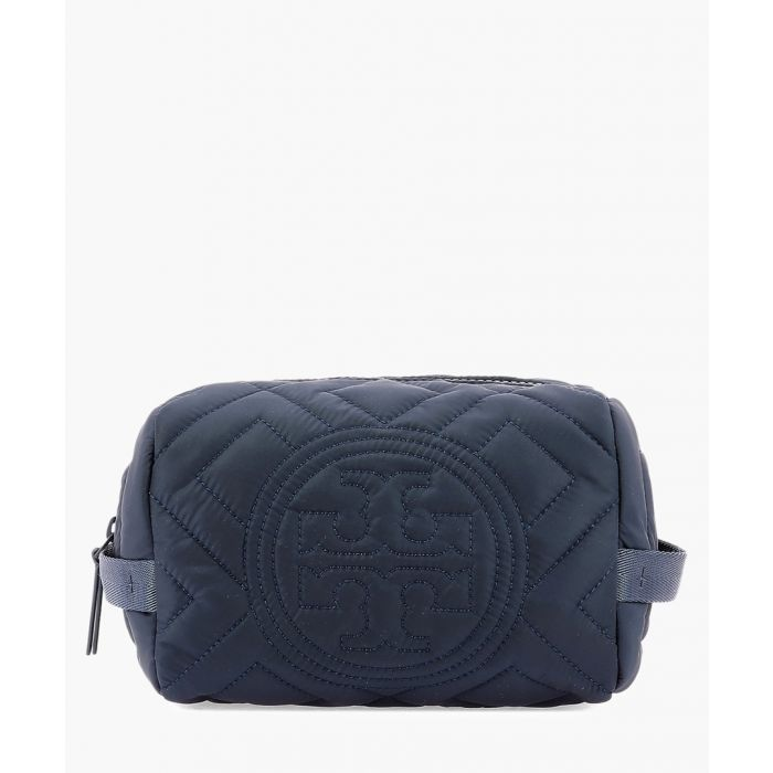 Image for Fleming blue beauty case clutch