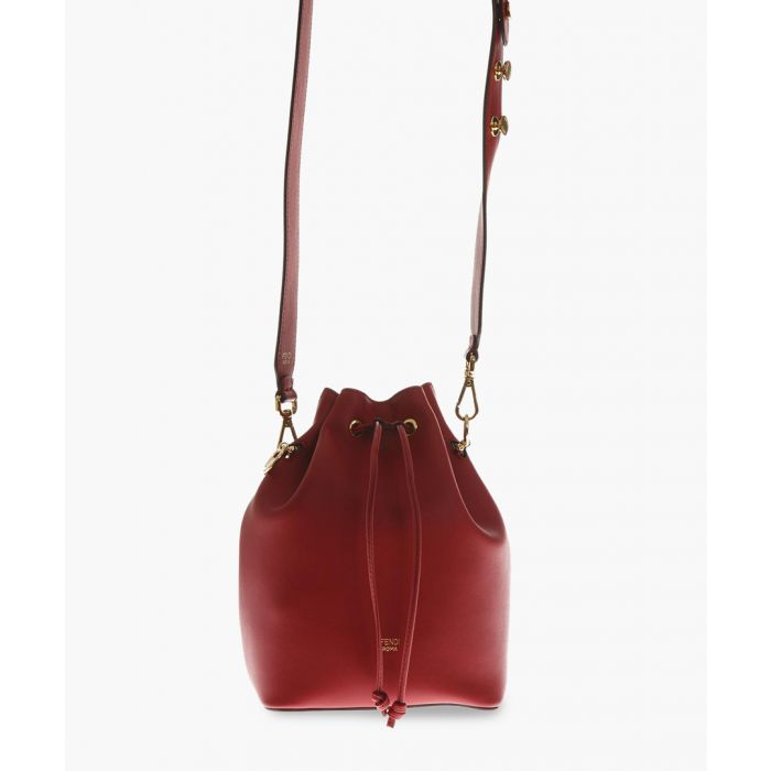 Image for Red leather bag