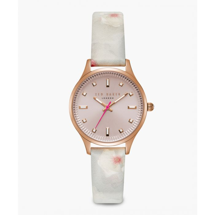 Image for Zoe multi-coloured leather and stainless steel watch