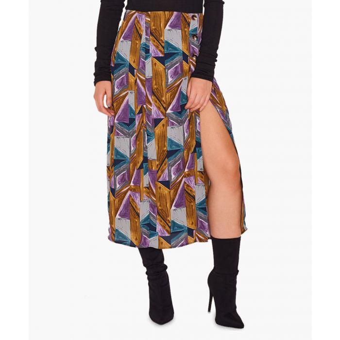 Image for Tasha printed maxi skirt