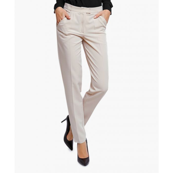 Image for Beige Woven Trousers