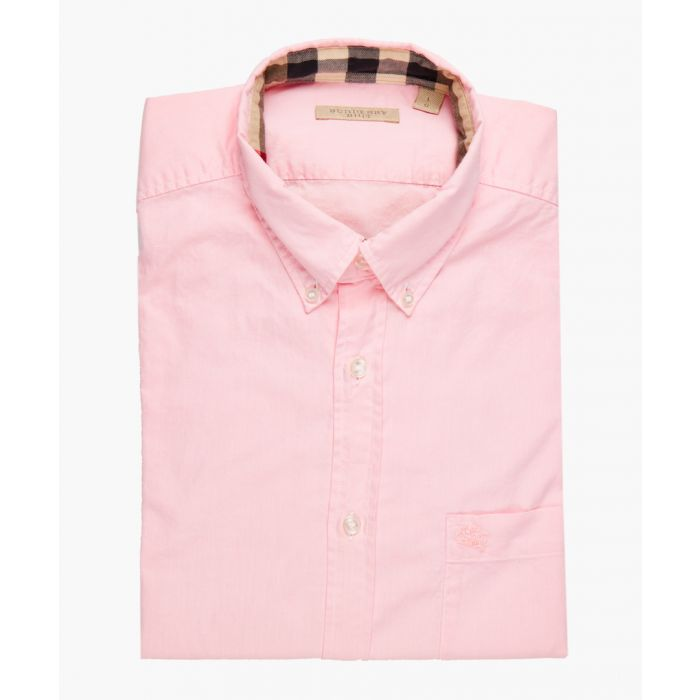 Image for pink pure cotton shirt