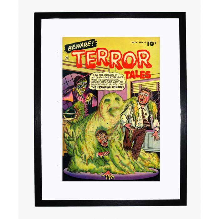 Image for Beware Terror Tales 04 framed print