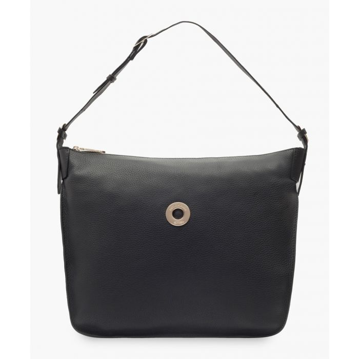 Image for Tagus black leather bag