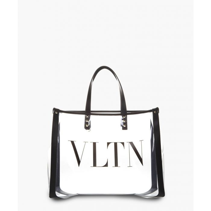 Image for Transparent PVC logo shopper