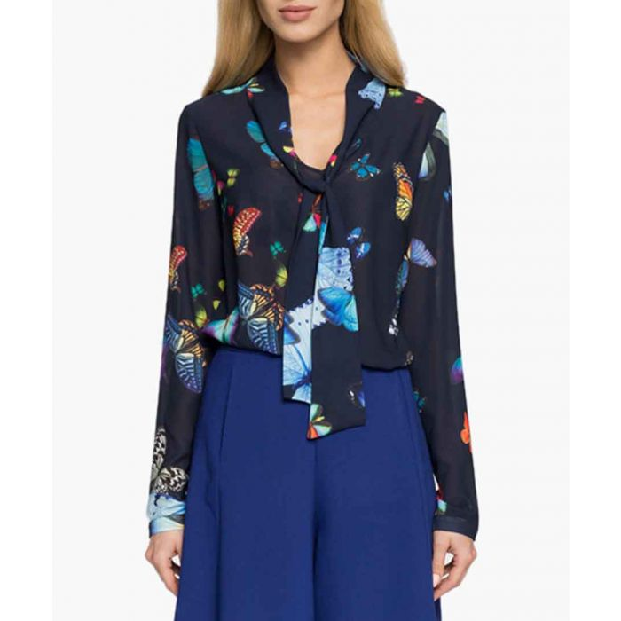 Image for Navy blue blouse
