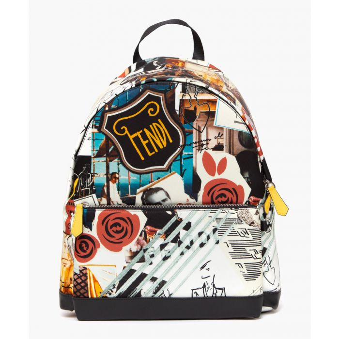 Image for Karl collage multi-coloured backpack