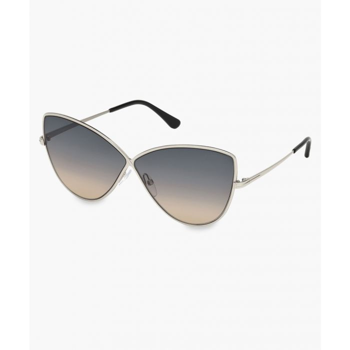 Image for Grey cat eye sunglasses