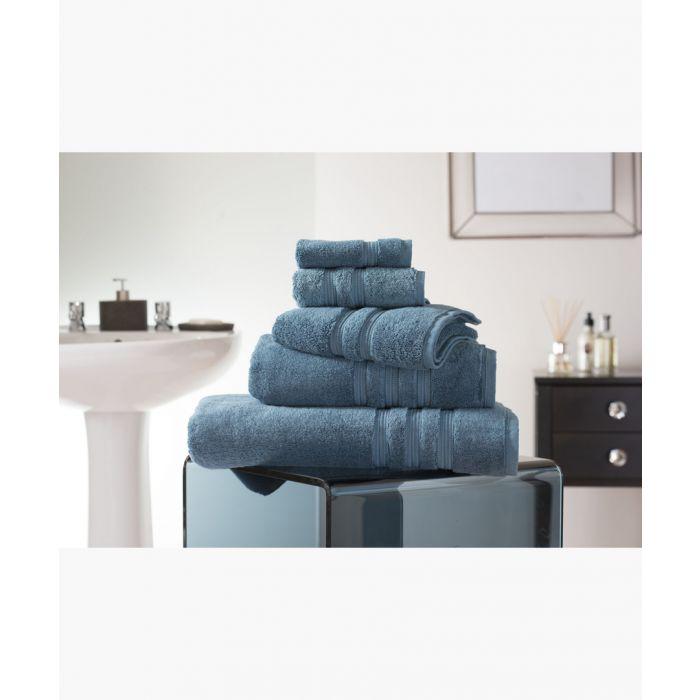 Image for Petrol Turkish pima cotton bath towel