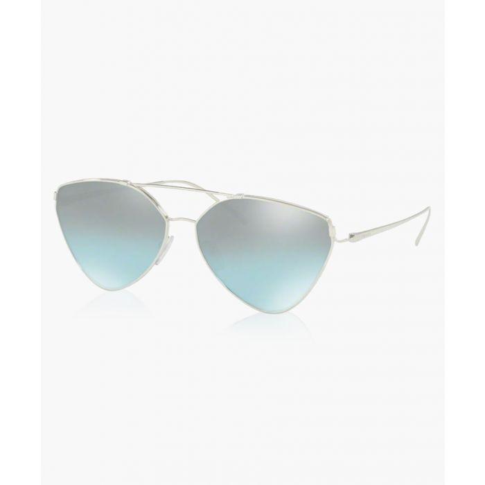 Image for Silver-tone sunglasses