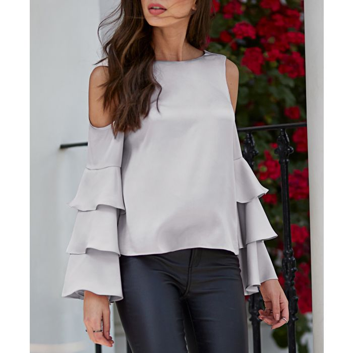 Image for Silver-tone blouse