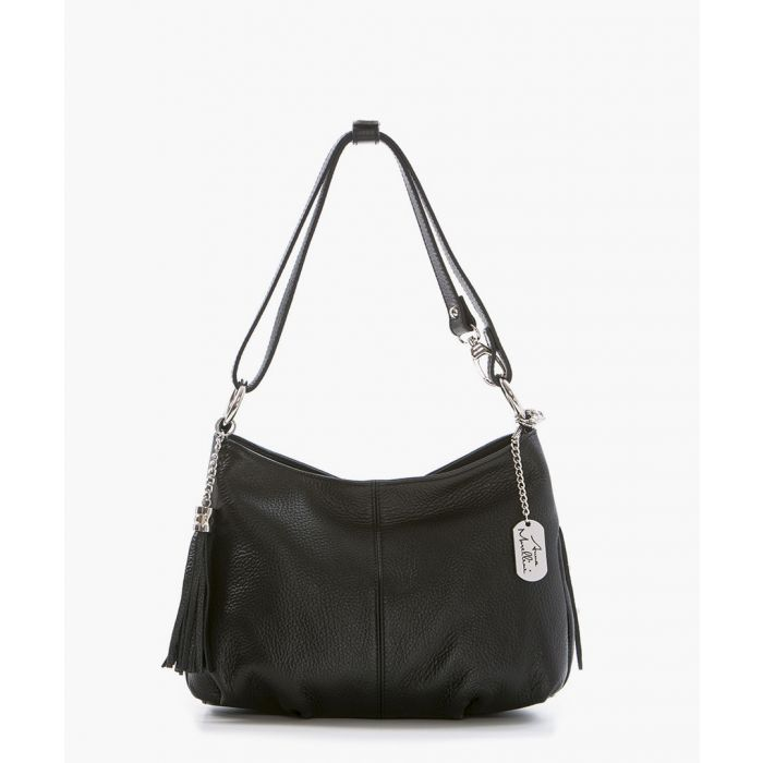 Image for Mia black leather crossbody