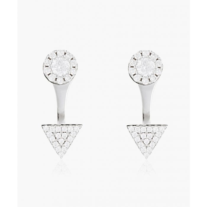 Image for Charm silver-plated earrings