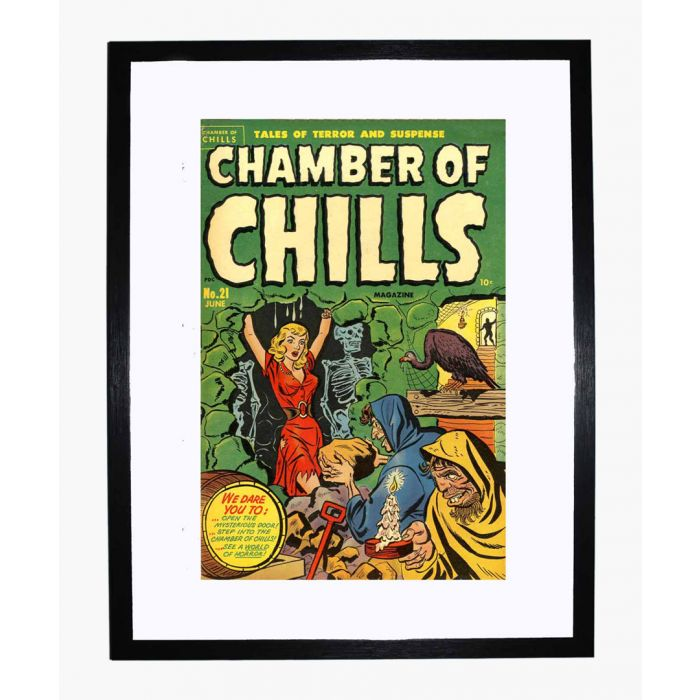 Image for Chamber of Chills 21 framed print