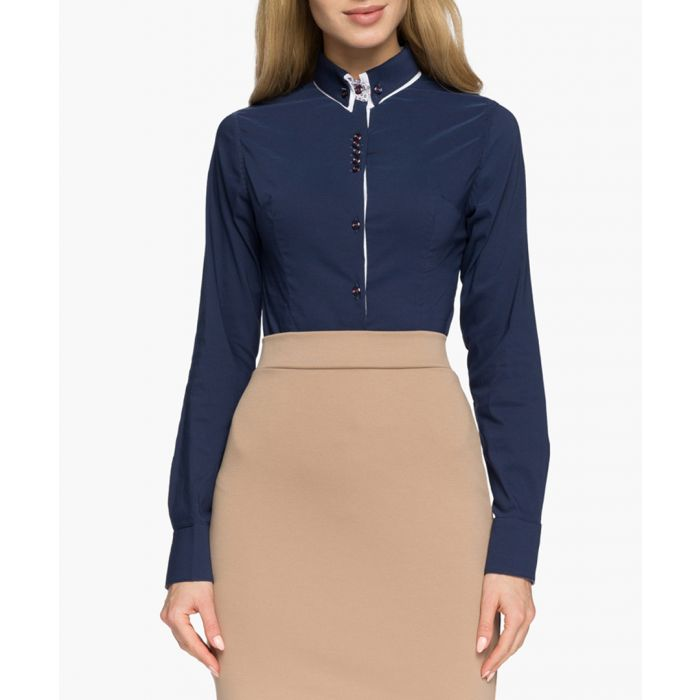 Image for Navy blue shirt