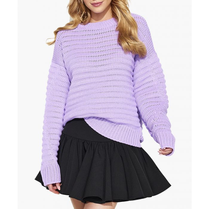 Image for Lilac Knitted Sweater