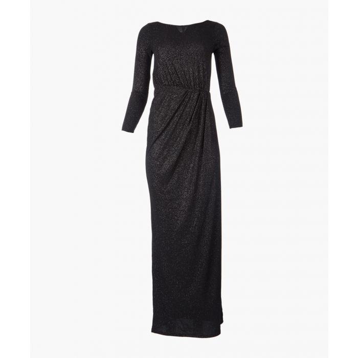 Image for Alyssa black maxi dress