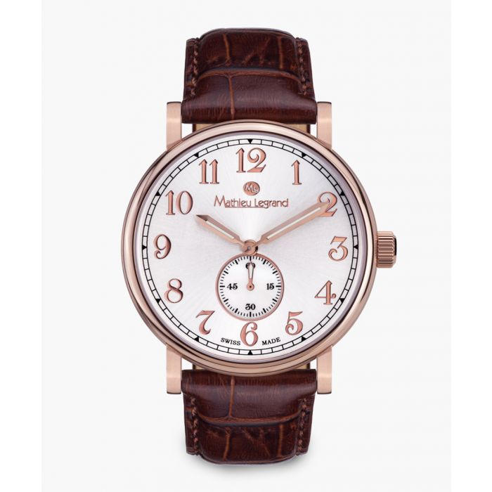 Image for Classique brown watch