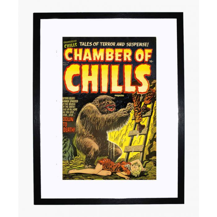 Image for Chamber of Chills 14 framed print