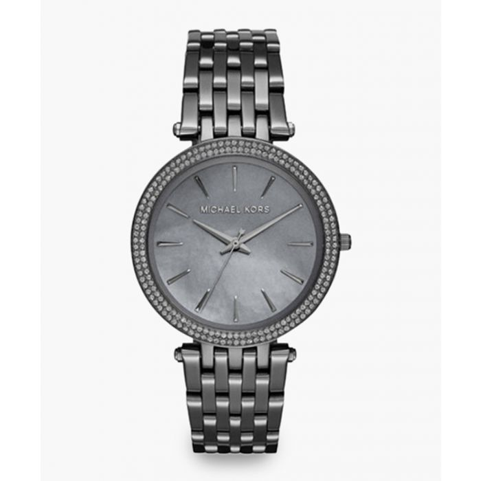 Image for Grey stainless steel analogue watch