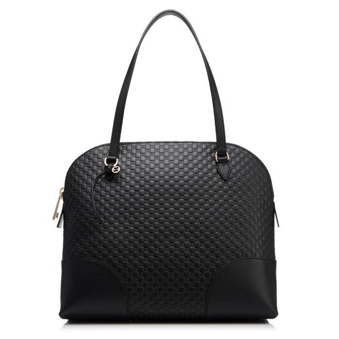 Image for Bree black Guccissima leather shoulder bag