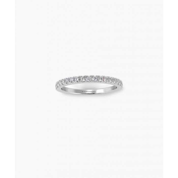 Image for 9k white gold and 0.25ct diamond eternity ring