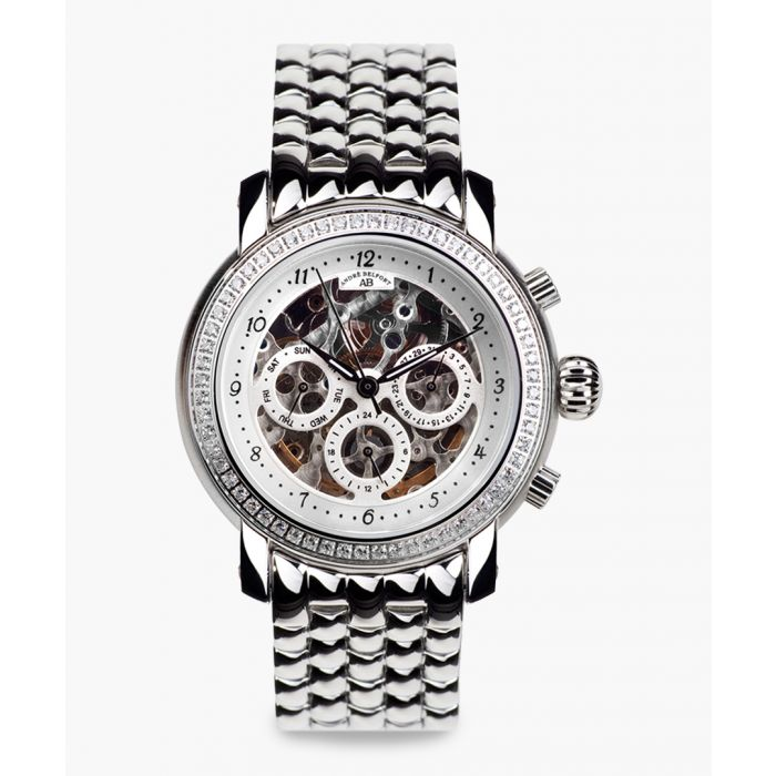 Image for Intemporelle silver-tone watch