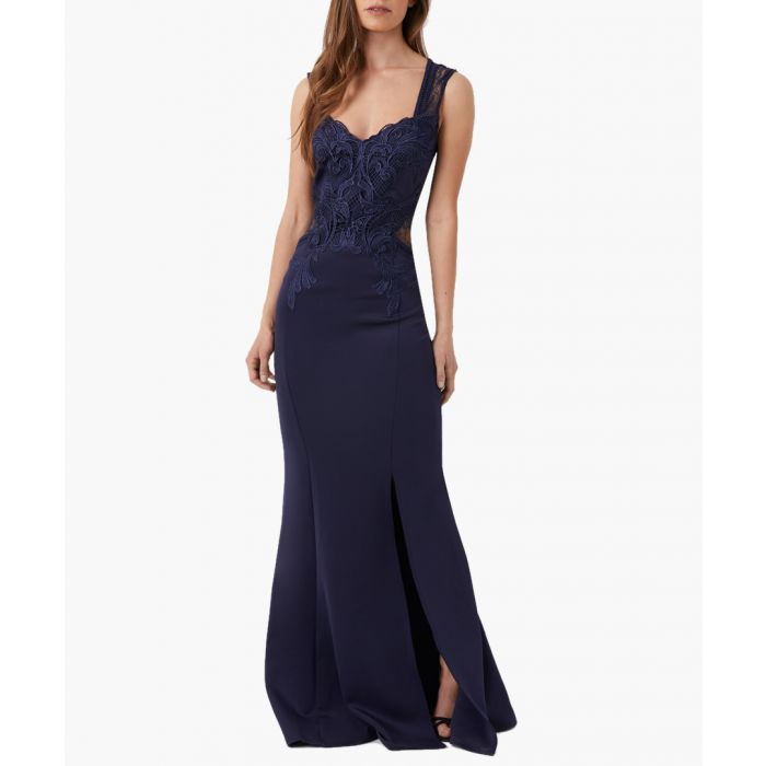 Image for Navy maxi dress