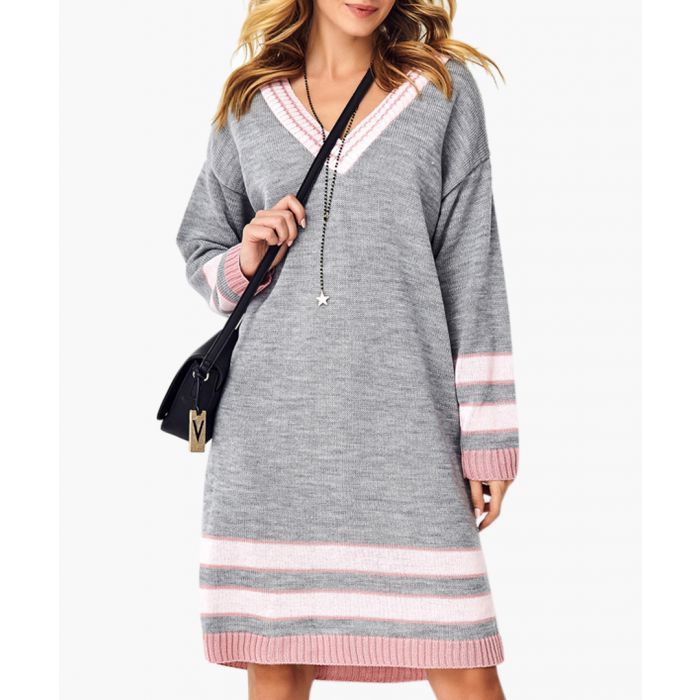 Image for Grey knitted jumper