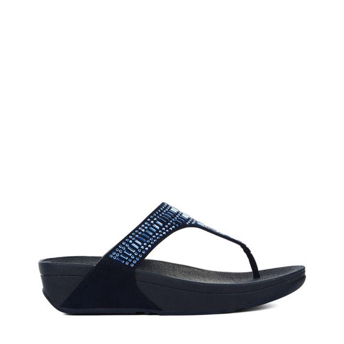 Image for Incastone midnight navy sandals