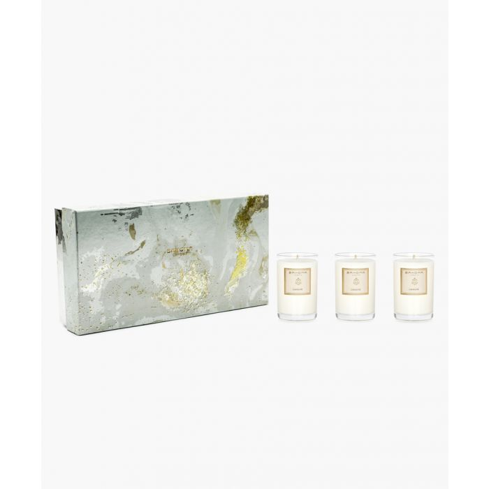 Image for 3pc On The Rocks Pearl Jasmine travel candle set