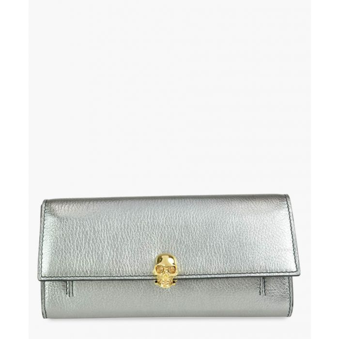 Image for Silver-tone wallet