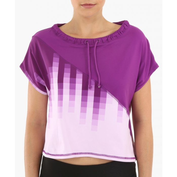 Image for Purple Ombre Butterfly Top