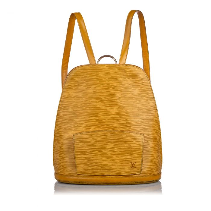 Image for Vintage Louis Vuitton Epi Gobelins Orange