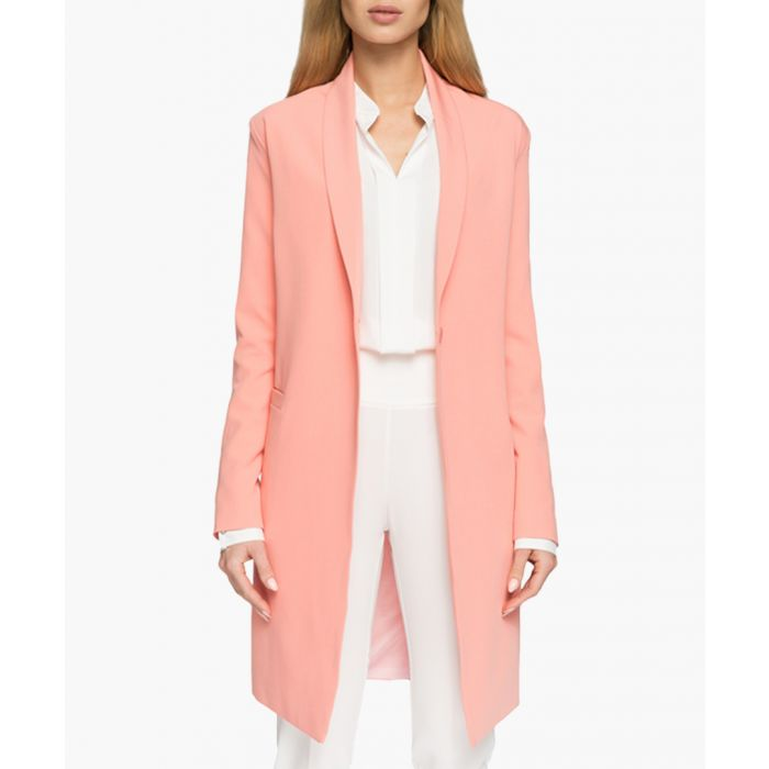 Image for Salmon pink blazer