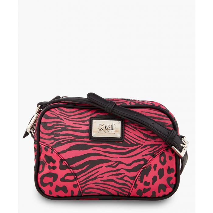 Image for Simone black and fuchsia bag