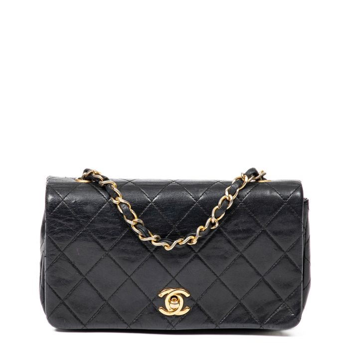 Image for Mini Single Flap black crossbody