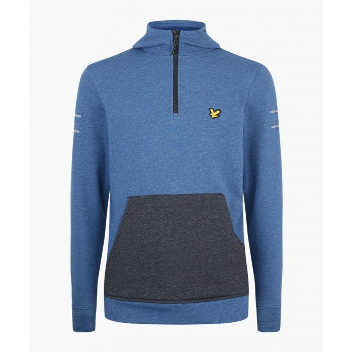 Image for Longridge Kangaroo steel marl hoodie