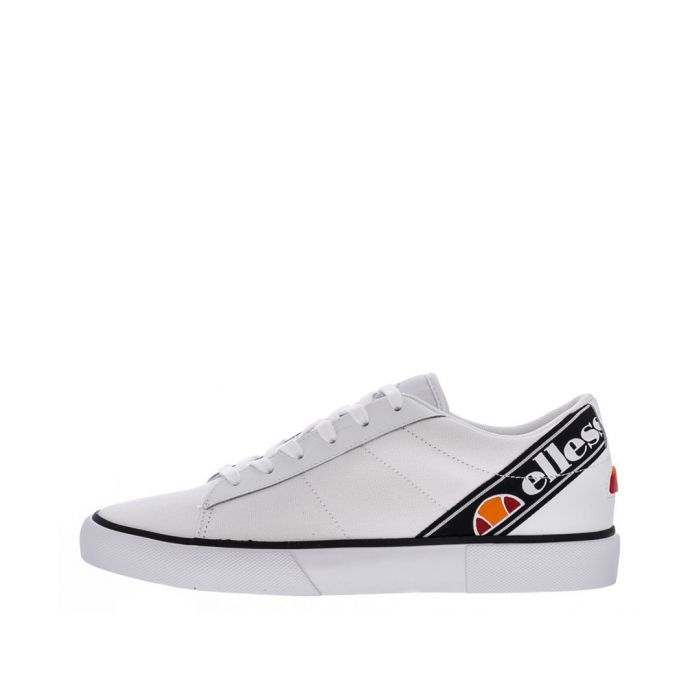 Image for Massimo white logo trainers