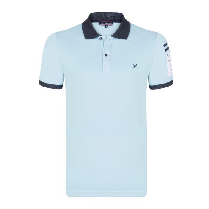 Image for Sky cotton short sleeve polo shirt